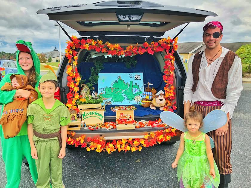 Our first Trunk or Treat! Halloween 2019