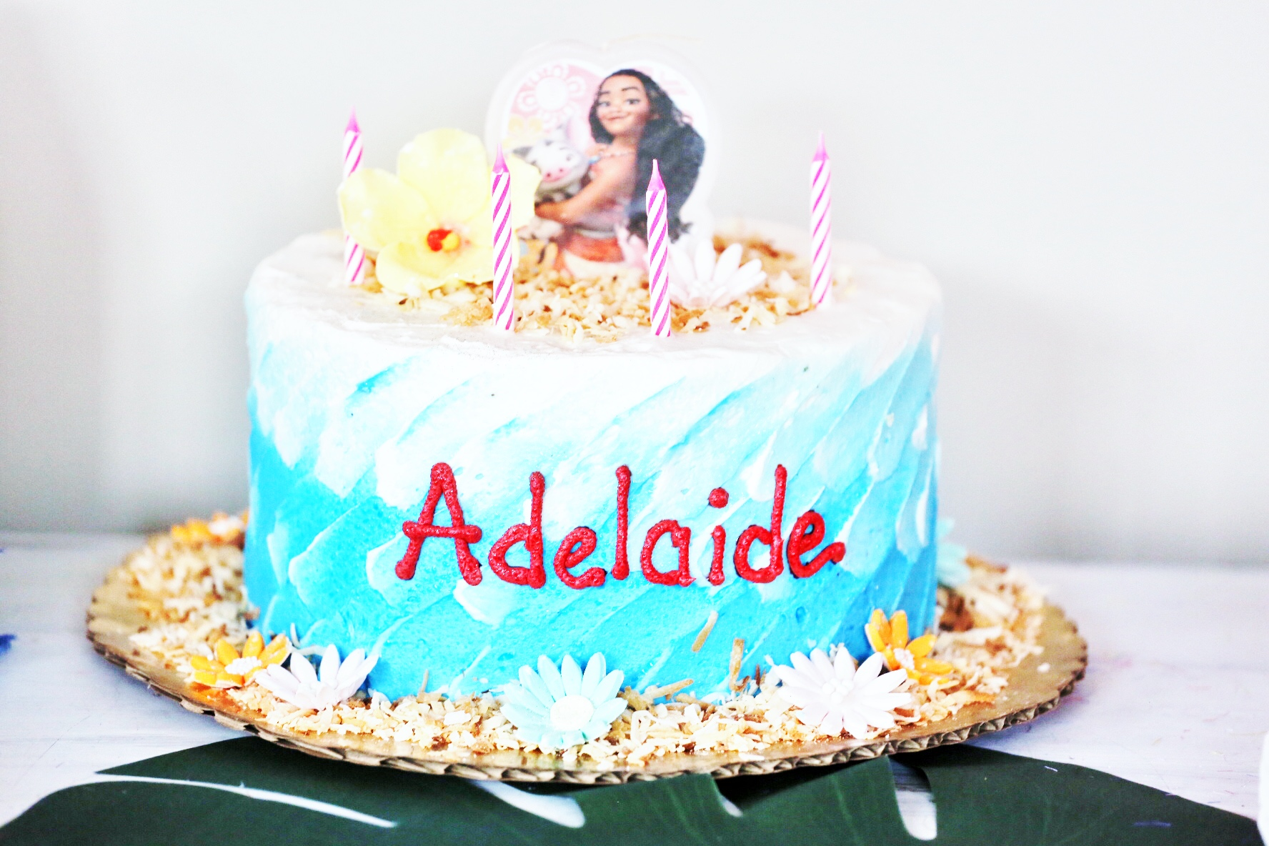 Stupendous Adelaides Moana Birthday Party Funny Birthday Cards Online Barepcheapnameinfo