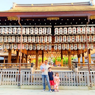 Exploring Kyoto, the Bamboo Forest, Meeting Macaque Monkeys and little Adelaide becomes a Geisha!
